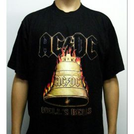 Tricou AC/DC - Hells Bells - Old Logo