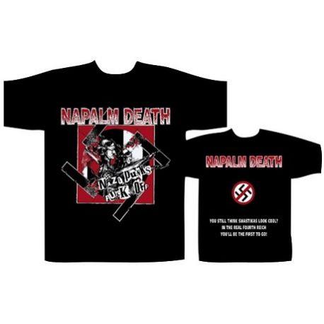 Tricou NAPALM DEATH - Nazi Punks