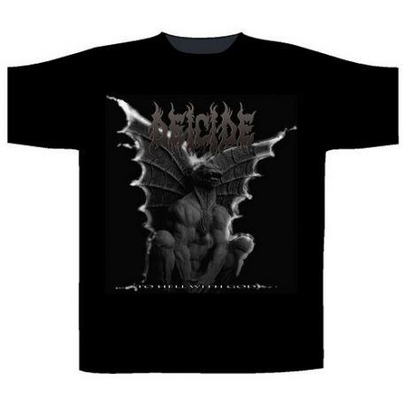 Tricou DEICIDE - Gargoyle To Hell With God