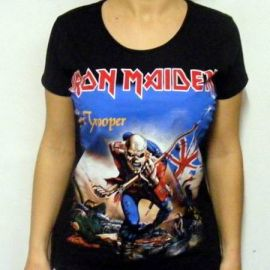 Tricou girlie IRON MAIDEN - Trooper