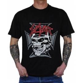 Tricou SLAYER - Skull & Iron Cross