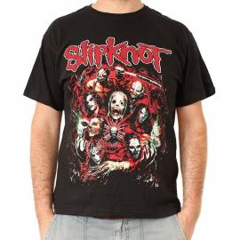 Tricou SLIPKNOT - Band in Red