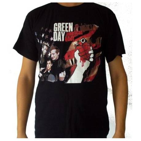 Tricou GREEN DAY - American Idiot - Band