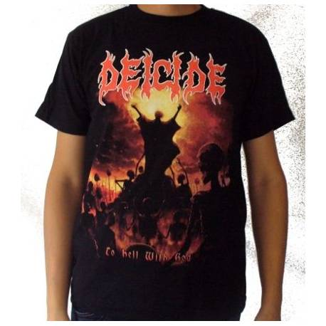 Tricou Deicide - To Hell With Good