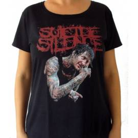 Tricou Girlie SUICIDE SILENCE - Mitch