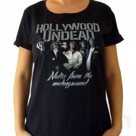 Tricou girlie HOLLYWOOD UNDEAD - Notes From The Underground