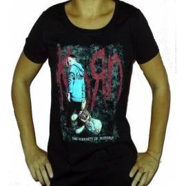 Tricou Girlie KORN - The serenity of Suffering