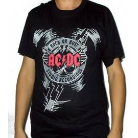 Tricou AC/DC - Rock or Bust - Studio Recordings