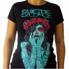 Tricou girlie SUICIDE SILENCE - Mexican Girl
