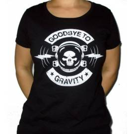 Tricou girlie GOODBYE TO GRAVITY - Logo
