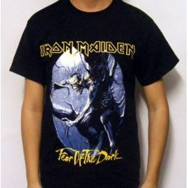Tricou IRON MAIDEN - Fear Of The Dark - Model 2