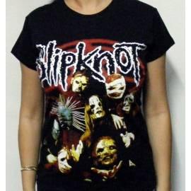 Tricou girlie SLIPKNOT - Band