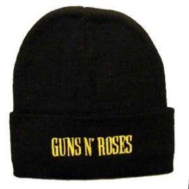 Caciula GUNS'N ROSES - Logo galben