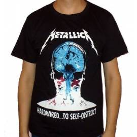 Tricou METALLICA - Hardwired ... to Self-Destruct - Model 2