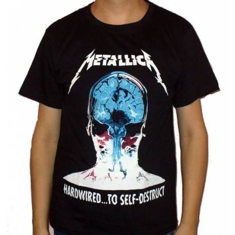 Tricou METALLICA - Hardwired to Self Destruct - Model 2