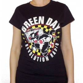 Tricou girlie GREEN DAY- Revolution Radio