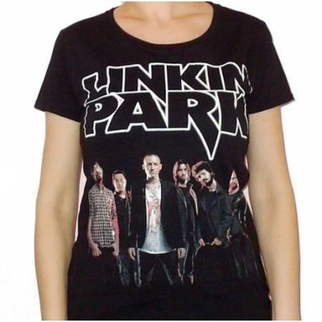 Tricou girlie LINKIN PARK - Band