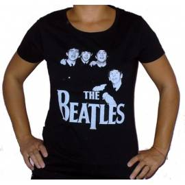 Tricou girlie THE BEATLES - Band