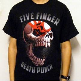 Tricou FIVE FINGER DEATH PUNCH - Skull