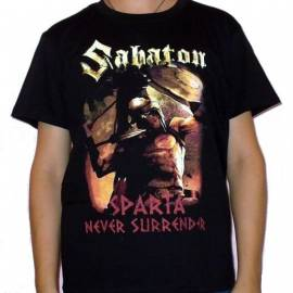 Tricou SABATON - Sparta Never Surrender