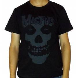 Tricou MISFITS - Logo gri