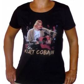 Tricou girlie NIRVANA - Kurt Cobain