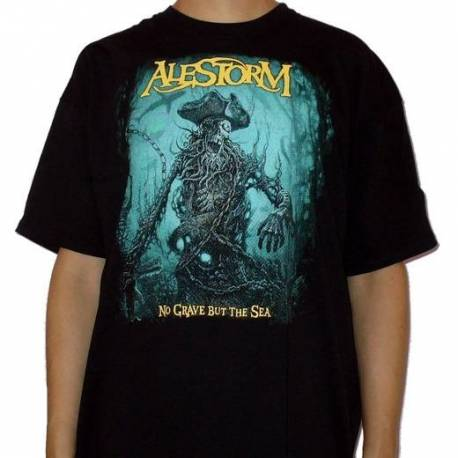 Tricou ALESTORM - No Grave But the Sea