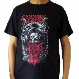 Tricou CANNIBAL CORPSE - Horns