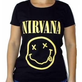 Tricou fete NIRVANA - Smiling Face
