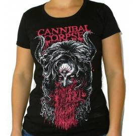 Tricou fete CANNIBAL CORPSE - Horns