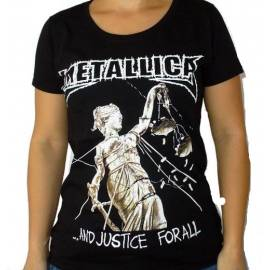 Tricou fete METALLICA - And Justice for All