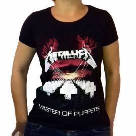 Tricou fete METALLICA - Master of Puppets