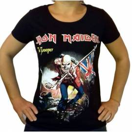 Tricou fete IRON MAIDEN - The Trooper