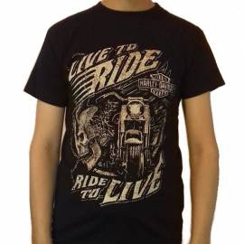 Tricou HARLEY DAVIDSON - Live To Ride, Ride To Live