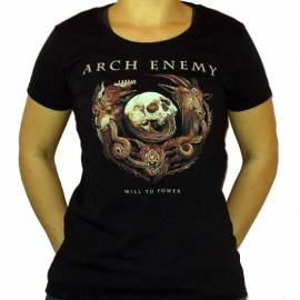 Tricou fete ARCH ENEMY - Will To Power