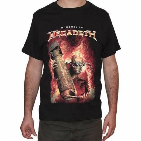 Tricou MEGADETH - Arsenal