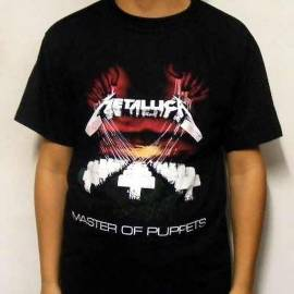 Tricou METALLICA - Master of Puppets 2