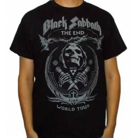 Tricou BLACK SABBATH - The End World Tour
