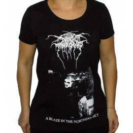 Tricou fete DARKTHRONE - A Blaze in the Northern Sky