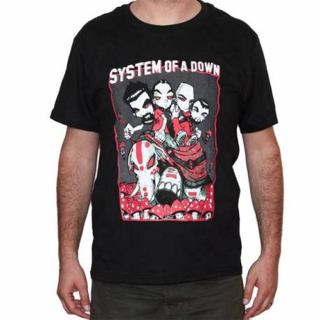 Tricou SYSTEM OF A DOWN - Caricatura