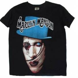 Tricou pentru copii MARILYN MANSON - Blue Eye