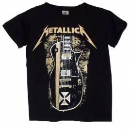Tricou pentru copii METALLICA - Hetfield Guitar