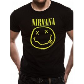 Tricou NIRVANA - Smiling Face - Model 2