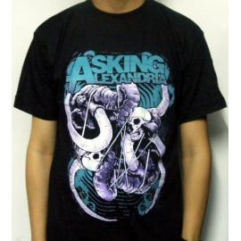 Tricou ASKING ALEXANDRIA - Blue Logo