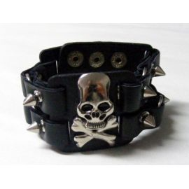 Bratara Native Art - PIRATE SKULL