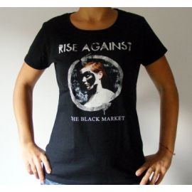 Tricou Girlie RISE AGAINST - The Black Market