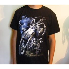 Tricou DEATH ON MOTORCYCLE