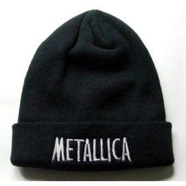 Caciula METALLICA - Logo gri
