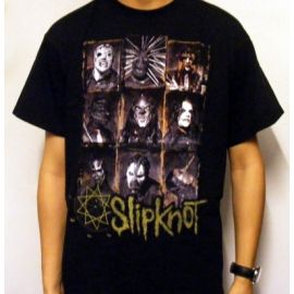 Tricou SLIPKNOT - Nine Faces
