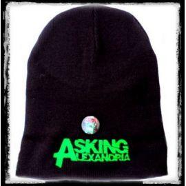 Caciula ASKING ALEXANDRIA - Logo verde
